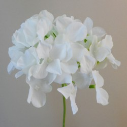 Artificial Hydrangea Cream 62cm - H016