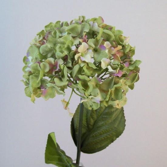 Artificial Hydrangeas Macrophylla Green - H090