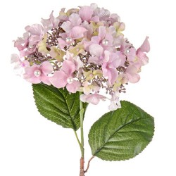 Artificial Hydrangeas Pink Pearl Wedding - H182 I1