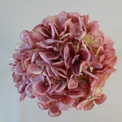 Artificial Hydrangeas Bundle Dusky Pink - H144 D1