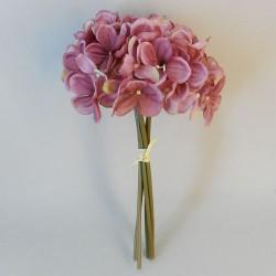 Artificial Hydrangeas Bundle Dusky Pink - H144 G4