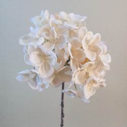 Artificial Hydrangea Rich Cream - H102 E4