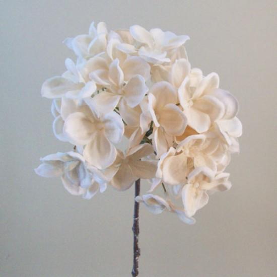 Artificial Hydrangea Rich Cream - H102 E4