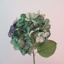 Downton Silk Hydrangea Flowers Green - H078 G2