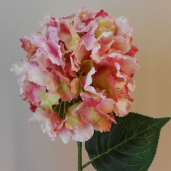 Artificial Hydrangea Large Pink - H155 H1
