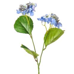 Mini Artificial Hydrangea Flowers Blue - H035 E3