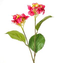 Mini Artificial Hydrangea Flowers Dark Pink - H022 H2