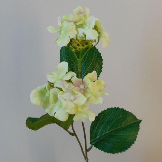 Mini Artificial Hydrangea Flowers Vintage Green - H033 H2