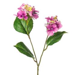 Mini Artificial Hydrangea Purple Flowers - H034 E3