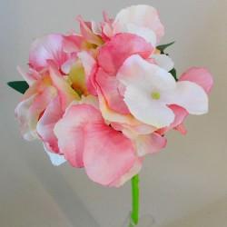 Artificial Hydrangeas Pink Short Stem - H193 H3
