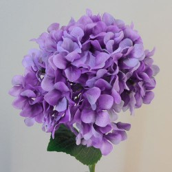 Rydal Artificial Hydrangeas Lavender Purple - H052 BB2