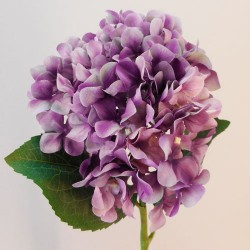 Rydal Artificial Hydrangeas Mauve Purple - H031 BB2