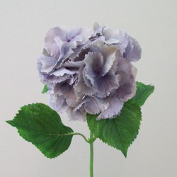 Silk Hydrangeas Pale Dusky Blue - H085 G4
