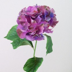 Silk Hydrangeas Dusky Purple - H083 G4