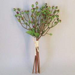 Artificial Hypericum Berries Bundle Brown - H106 BX12