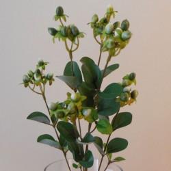Artificial Hypericum Berries Green - H025 H3