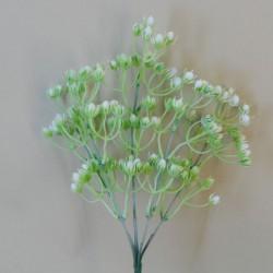 Artificial Hypericum Berries Bunch White - H108 E4