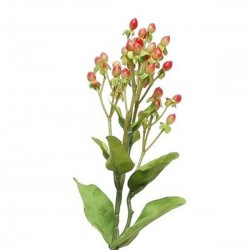 Artificial Hypericum Berries Red - H107 H3