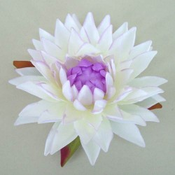 Large Silk Water Lily Mauve - L026 BX12