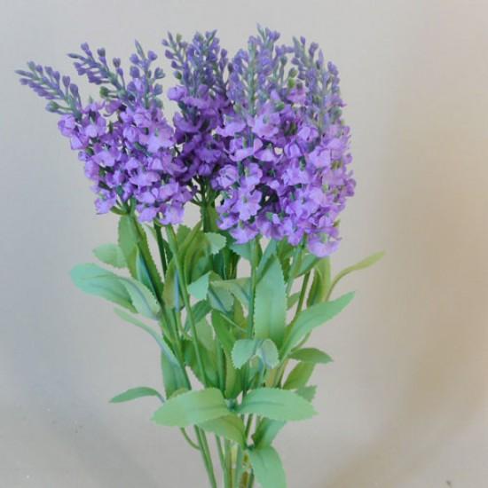 Artificial Lavender Plant Purple - L020