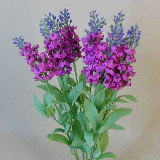 Artificial Lavender Plant Pink Purple - L015 I3