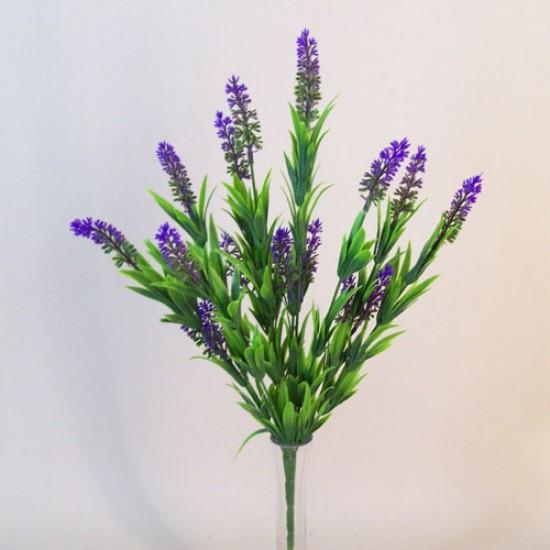 Artificial Lavender Plants Purple Flowers - L141 GG2