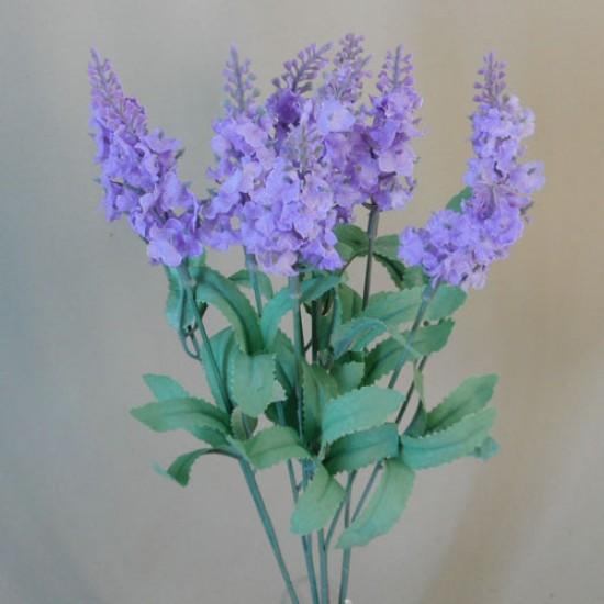 Artificial Lavender Plant Purple - L024 I3