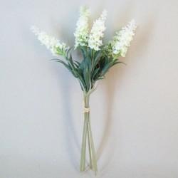 Artificial Lavender in Bloom Bundle Cream - L040