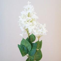 Artificial Lilac Blossom Ivory Flowers - L143 I2
