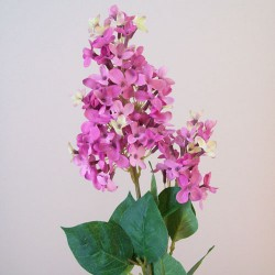 Artificial Lilac Blossom Pink Flowers - L144 I2