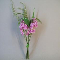 Mini Artificial Lilac Posy Pink - L132 KK3