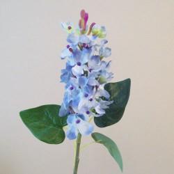 Short Stem Artificial Lilac Blossom Blue - L156 I4