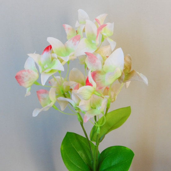 Artificial Canna Lilies Pink and Green 46cm - C102 B3