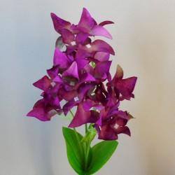 Artificial Canna Lilies Purple 46cm - C104 B3