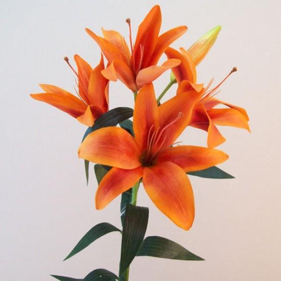 Artificial King Lily Orange - L130 K1