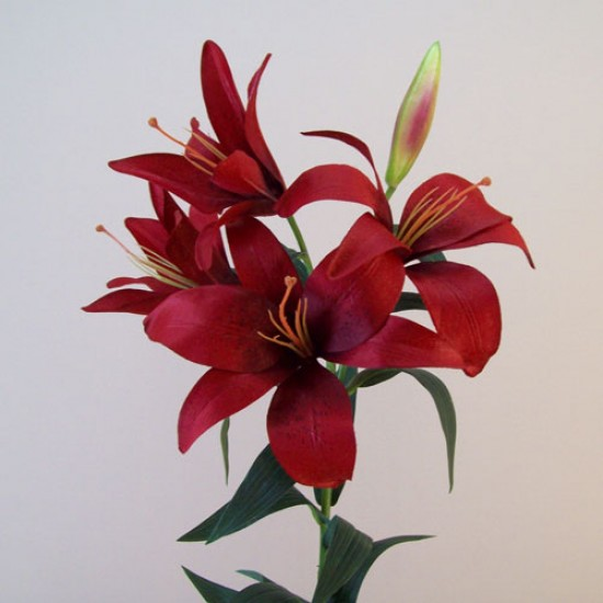 Artificial King Lily Red - L128 K1