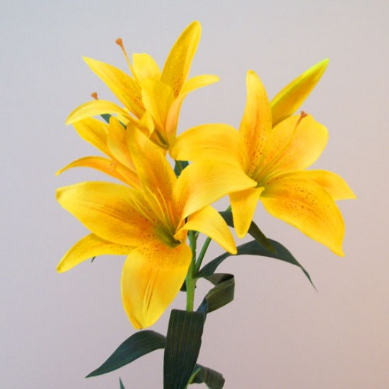 Artificial King Lily Yellow - L129 I1