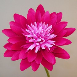 Artificial Lotus Lily Hot Pink - L140 H4