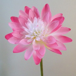 Artificial Lotus Lily Pink - L139 H4