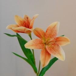 Artificial Tiger Lilies Orange 46cm - L027