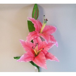 Giant Supersized Artificial Lily Pink | VM Display Prop - L162 UT