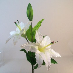 Giant Supersized Artificial Lily Cream | VM Display Prop - L163 UT