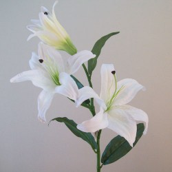 Real Touch Artificial Casablanca Lilies White - L036 G3