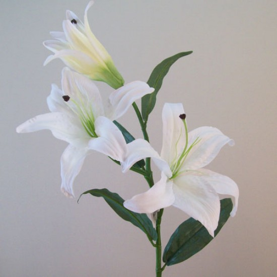 Real Touch Artificial Casablanca Lilies White - L036