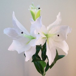 Real Touch Casablanca Lilies White - L031 K1