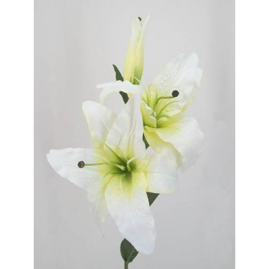 Artificial Lilies Casablanca Cream - L007