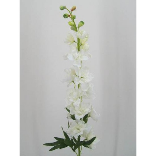 Luxury Ivory Silk Delphinium or Larkspur - D034 D4