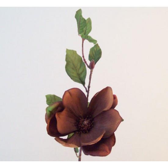 Artificial Magnolia Chestnut Brown - M057 KK2