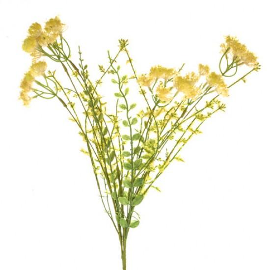 English Meadow Artificial Achillea Yellow - M011 EE3