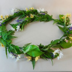Artificial Meadow Flowers Garland - MED005 EE4